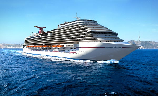 Carnival Cruise Lines Cruises 600x364