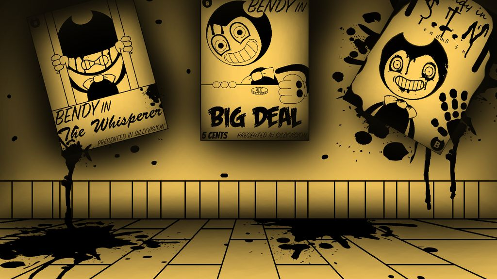 BendyCuphead] Background by Prince Ghast 1024x576