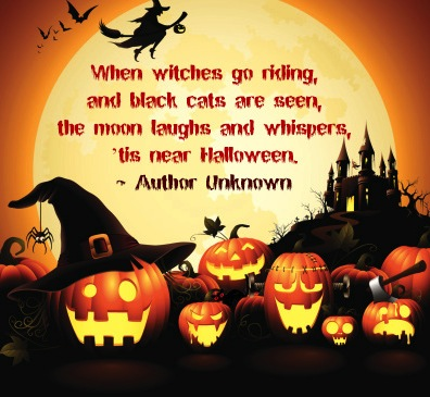 Happy Halloween 2018 Wishes Quotes Messages with Pictures 396x365