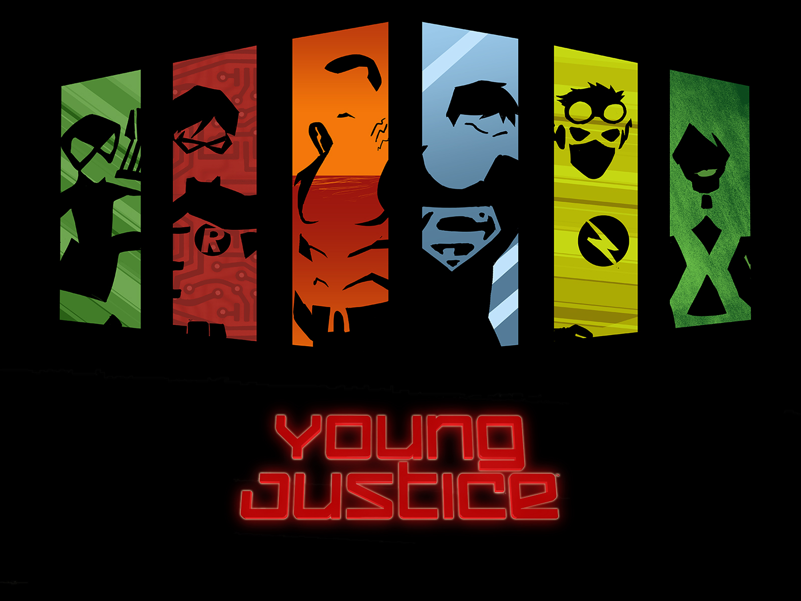 young justice wallpaperjpg 1600x1200