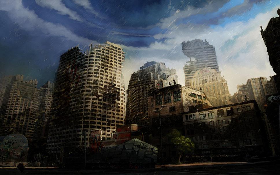 Destroyed City Wallpaper Destroyed City Wallpaper 969x606