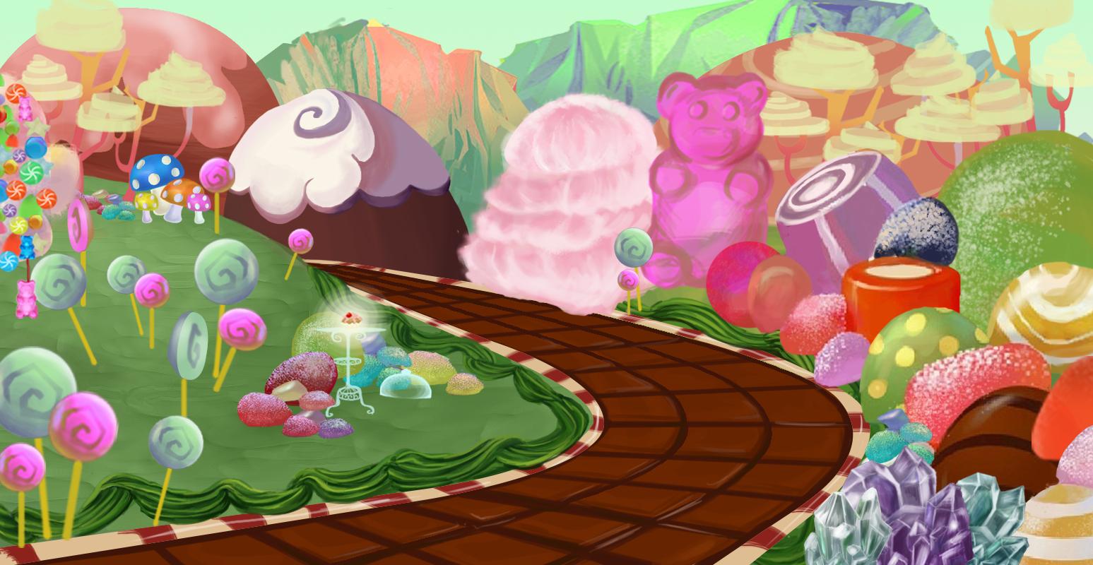 Resultado de imagem para kawaii candy wallpaper