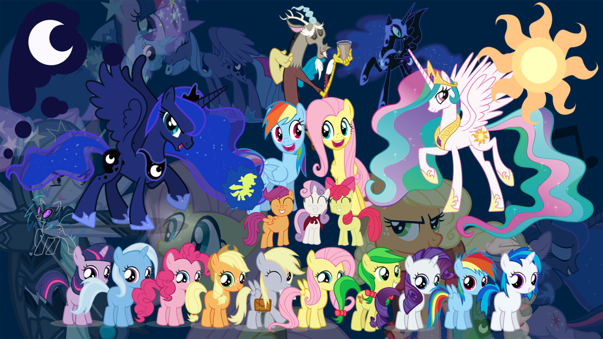 my little pony friendship image hd 2014   HD Backgrounds 1191x670