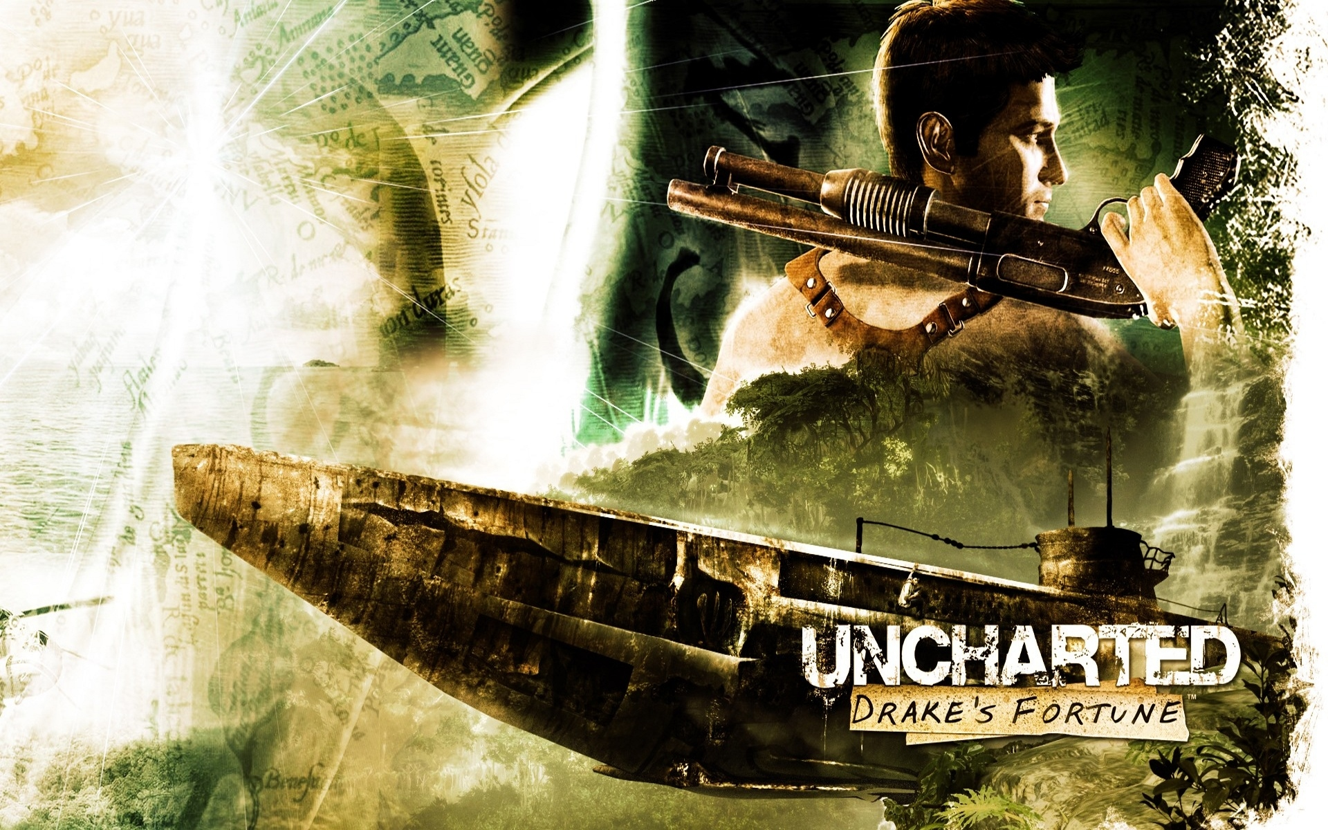 Uncharted 2 wallpapers Uncharted 2 stock photos 1920x1200