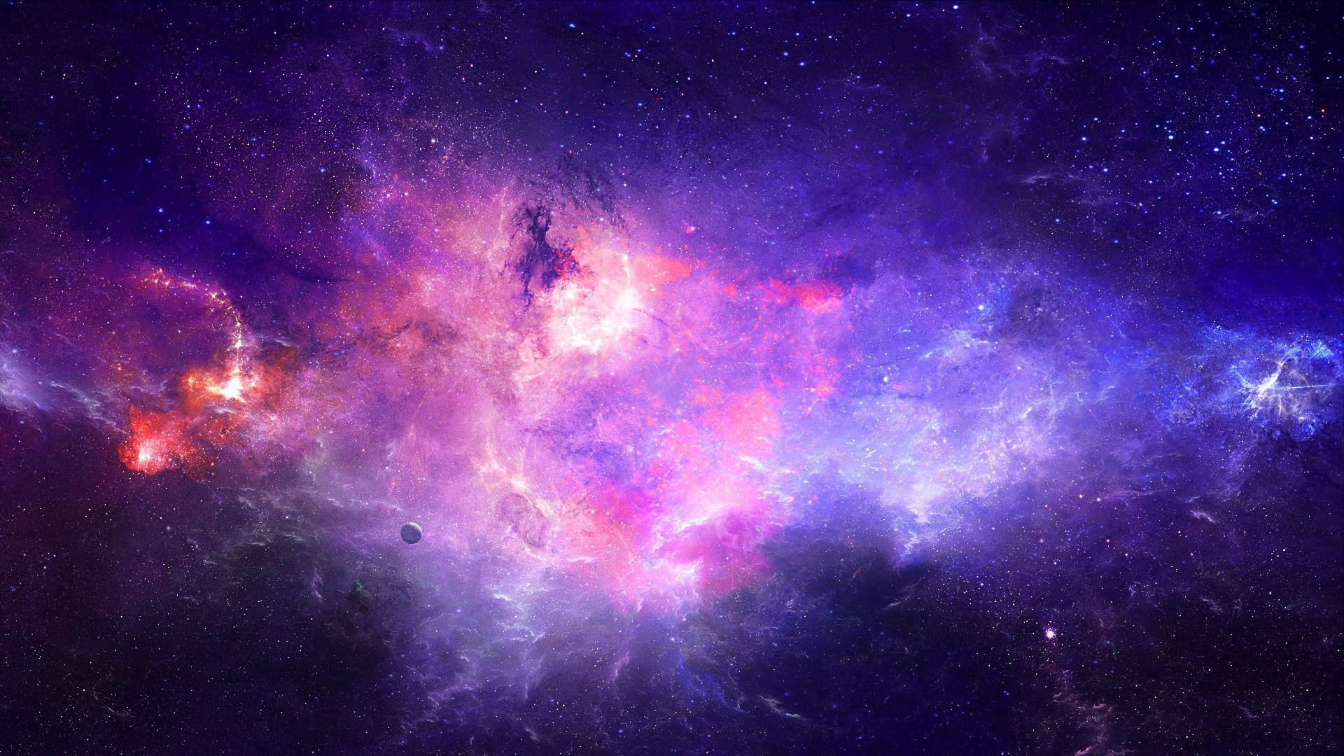 Purple galaxy Wallpaper #2568