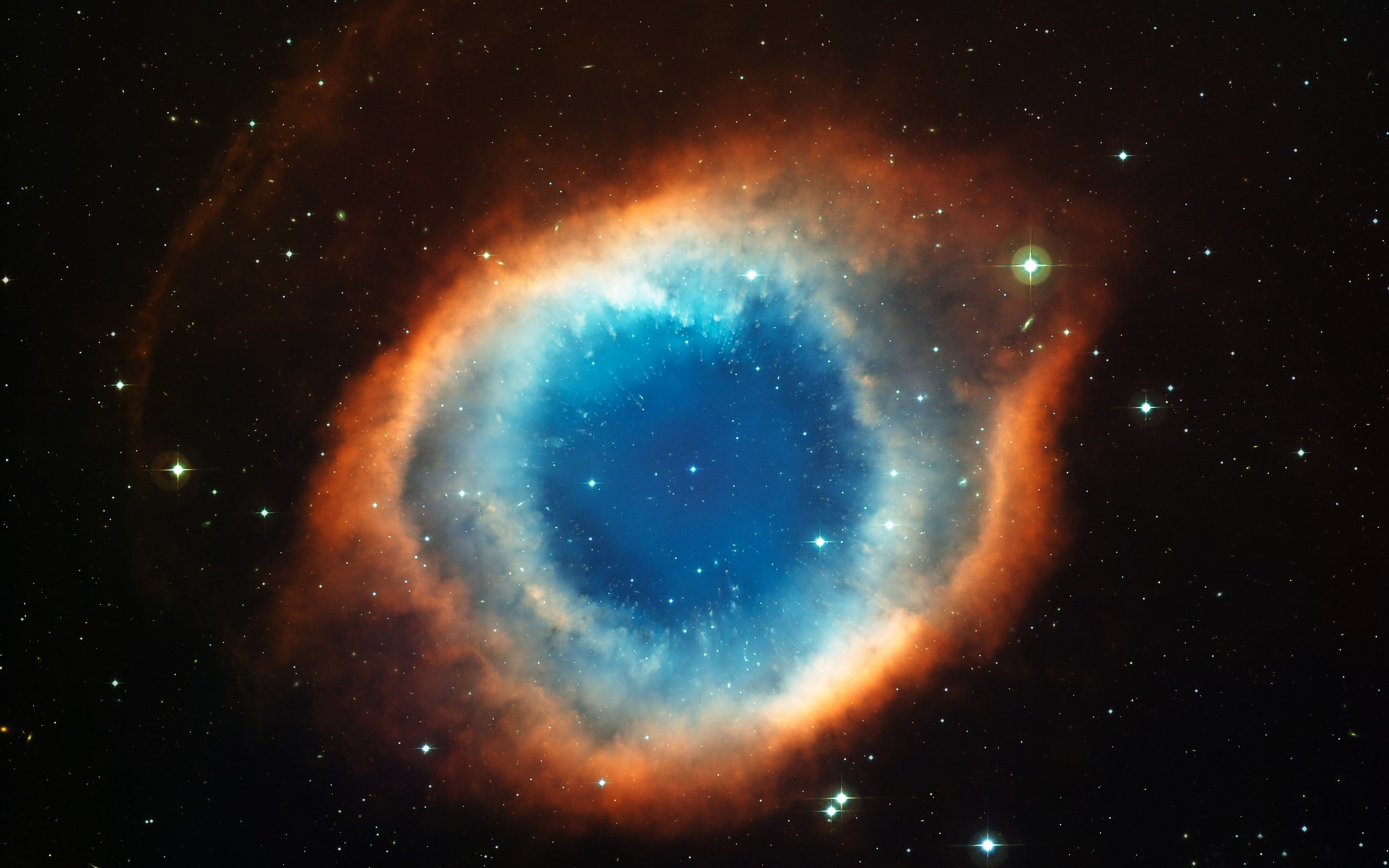 Helix Nebula Eye Of God Wallpaper 2560X1600 World Wallpaper Collection 2560x1600