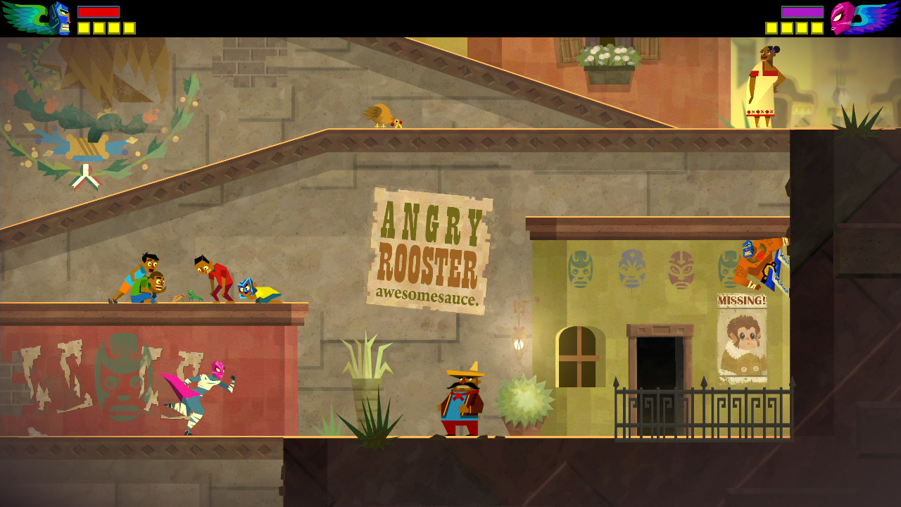 Guacamelee is a Very Original Bunch of References digital love 1280x720