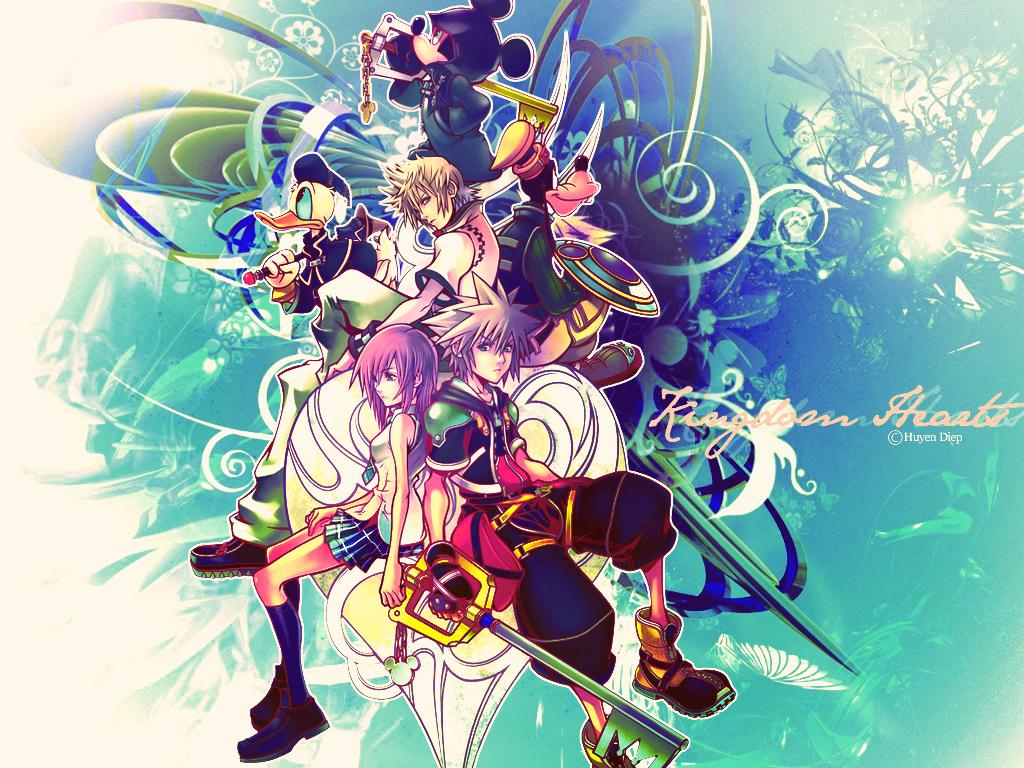 KH2   Kingdom Hearts 2 Wallpaper 8952127 1024x768