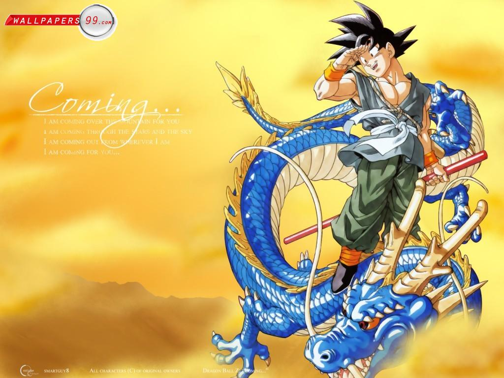 Dragon Ball Z wallpaper   Dragon Ball Z Wallpaper 33842508 1024x768