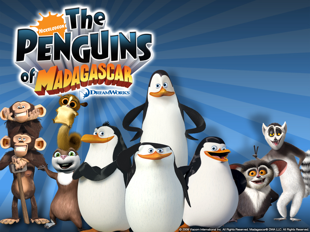 PoM Wallpaper   Penguins of Madagascar Wallpaper 13696218 1024x768
