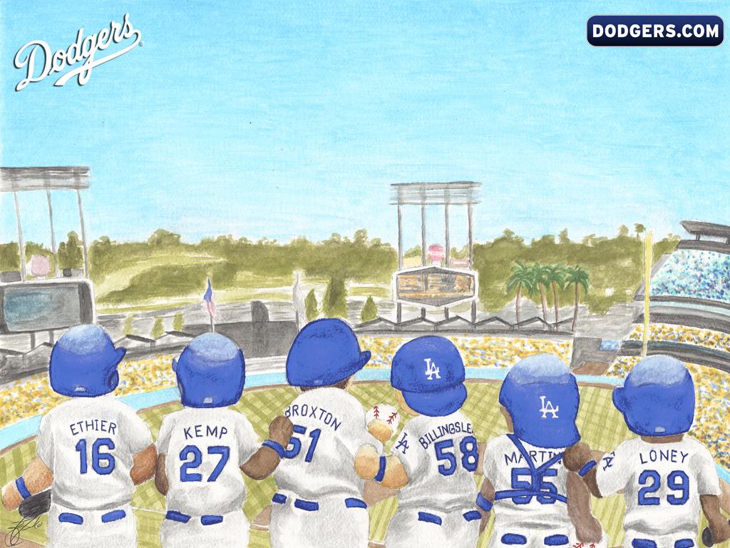 LA Dodgers Wallpaper   Los Angeles Dodgers Wallpaper 19650313 1024x768