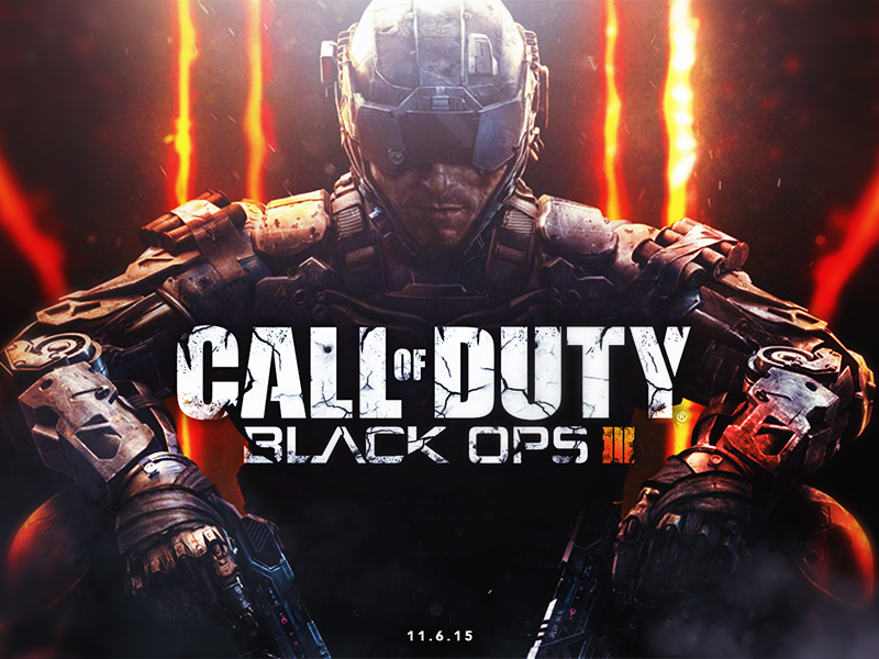 Dribbble   Call of Duty Black Ops 3   Wallpaper by Myth 800x600
