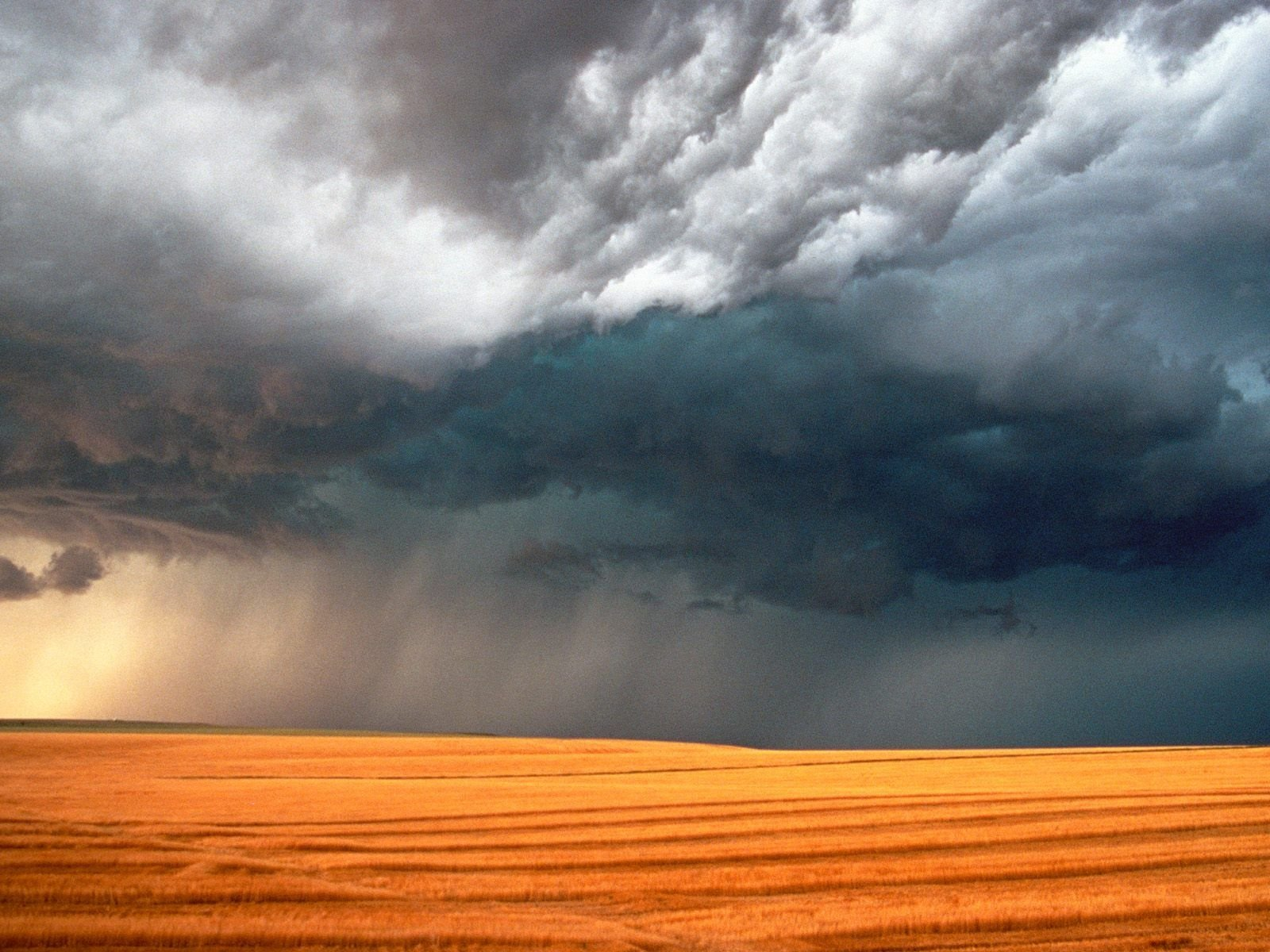 desktop wallpaper field storm 75609 1600x1200