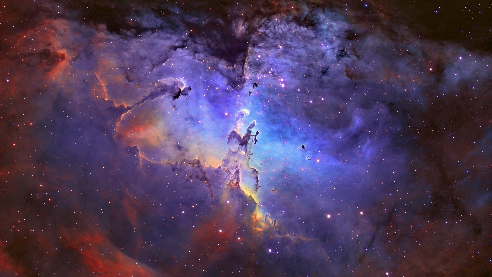 Eagle Nebula In Universe Wallpapers   1920x1080   580908 1920x1080