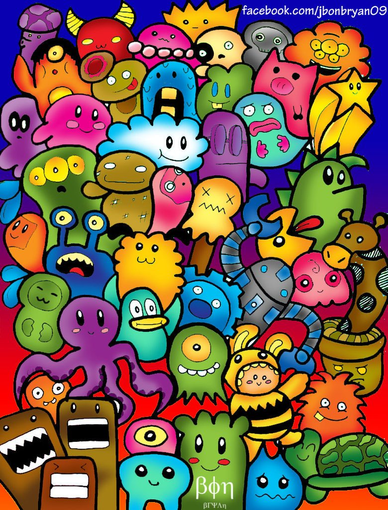 37 cute wallpaper doodle on wallpapersafari - Doodle desktop wallpaper ...