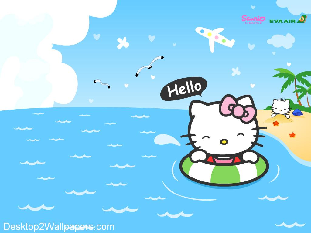 Gambar Animasi Wallpaper Hello Kitty Kampung Wallpaper