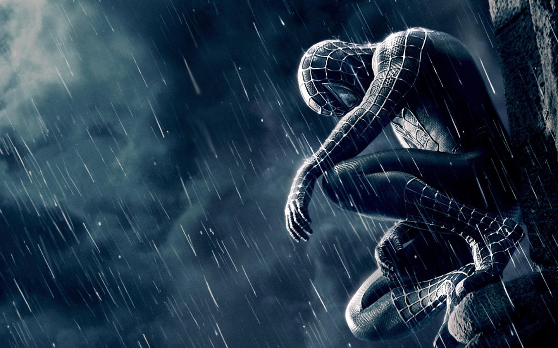 wallpaper downloads wallpaper Spiderman 3 Black Widescreen 1440x900