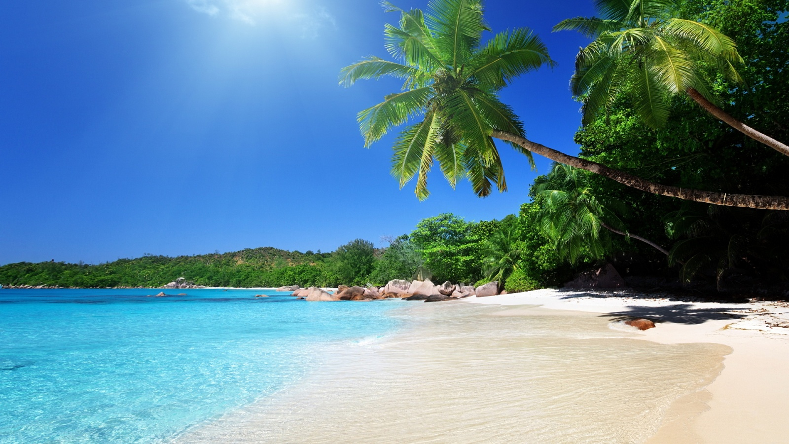 Tropical Islands Caribbean HD Wallpaper Background Images 1600x900