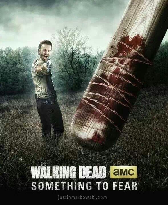 Not Looking Forward To Negan The Walking Dead Pinterest 589x720