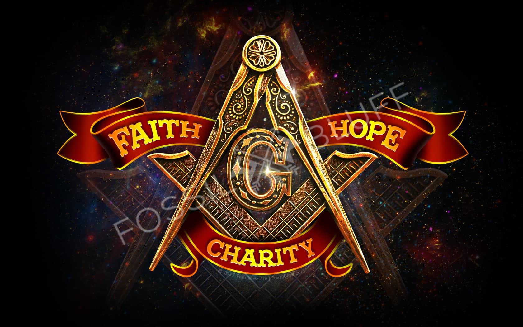 Freemason Wallpaper   Faith Hope Charity 1680x1050