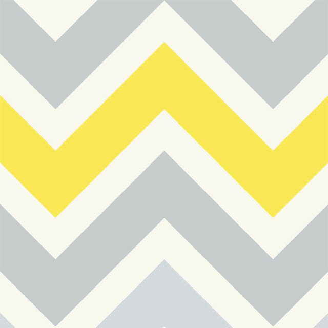 Chevron Yellow Wallpaper   Modern   Wallpaper 640x640