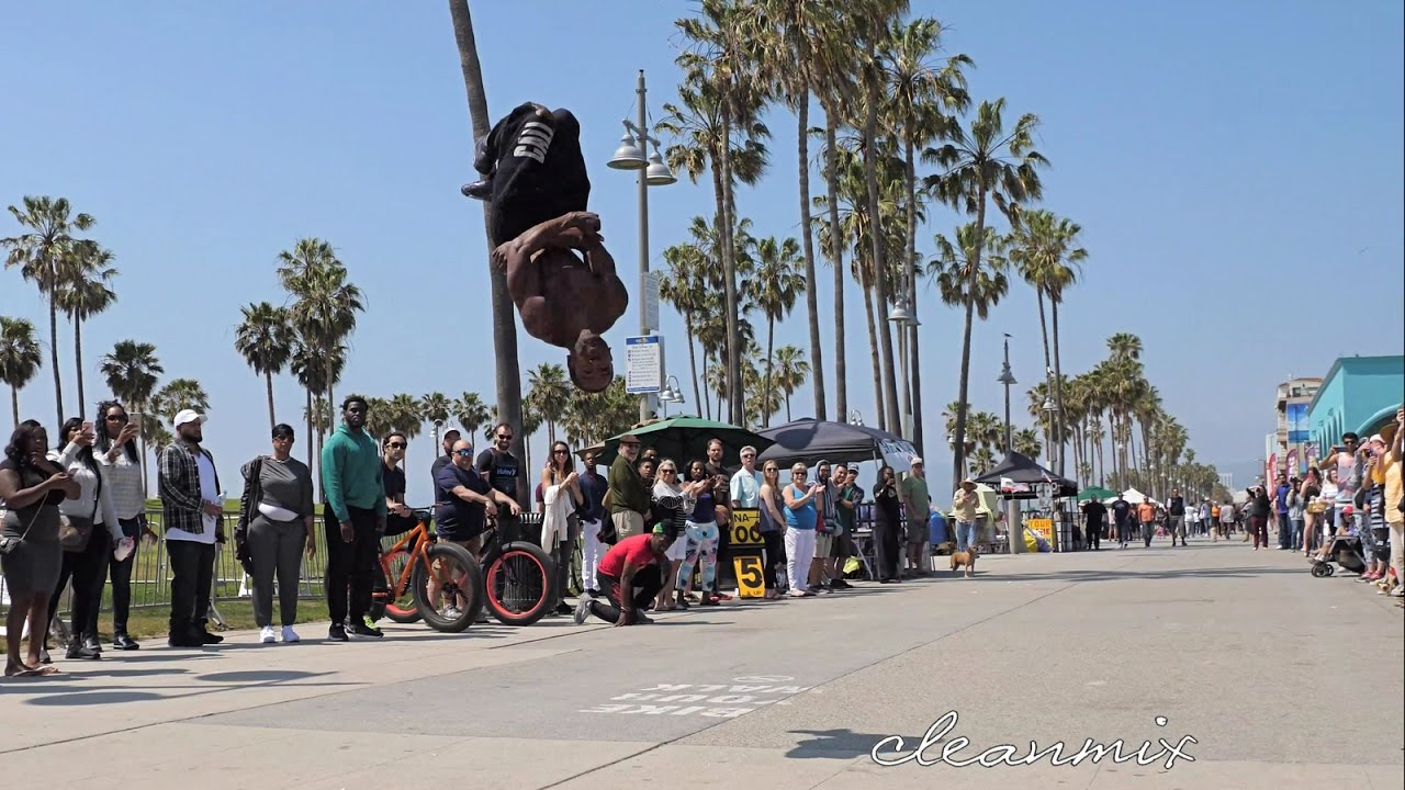 VENICE BEACH CALIFORNIA 4K 1280x720