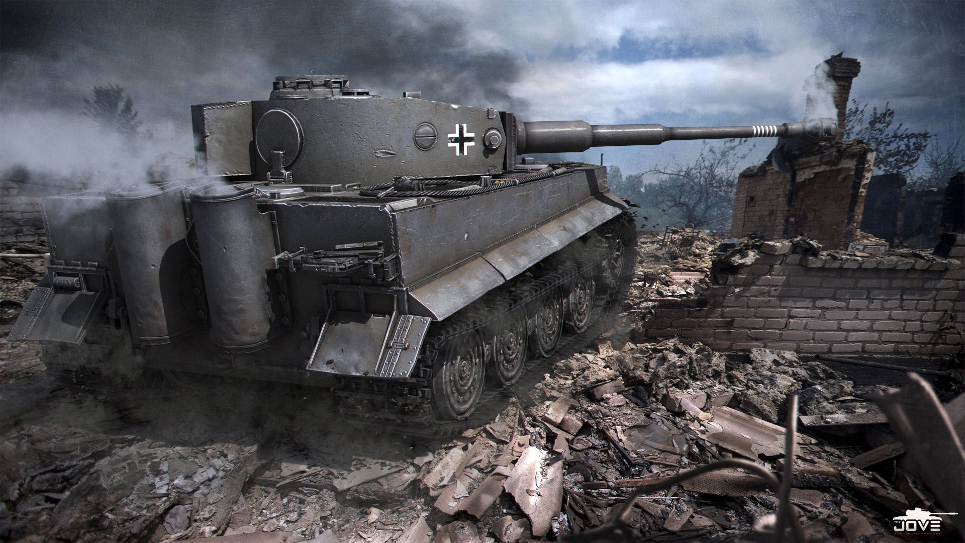 World Of Tanks Wallpaper Tiger   wallpaper 1920x1080