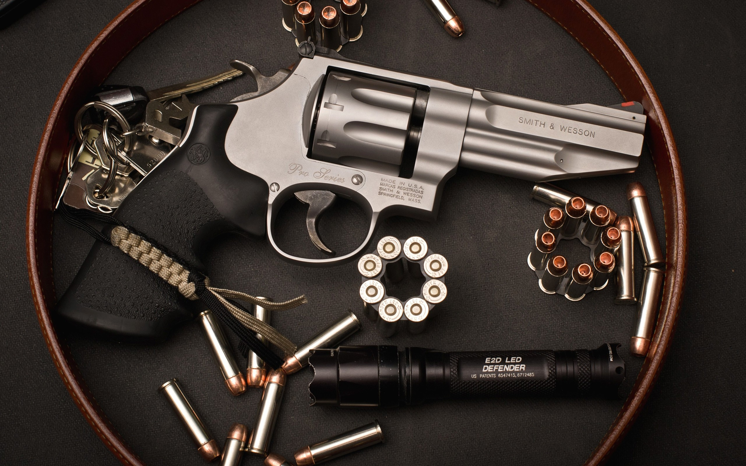 Smith Wesson Revolver Computer Wallpapers Desktop Backgrounds 2560x1600