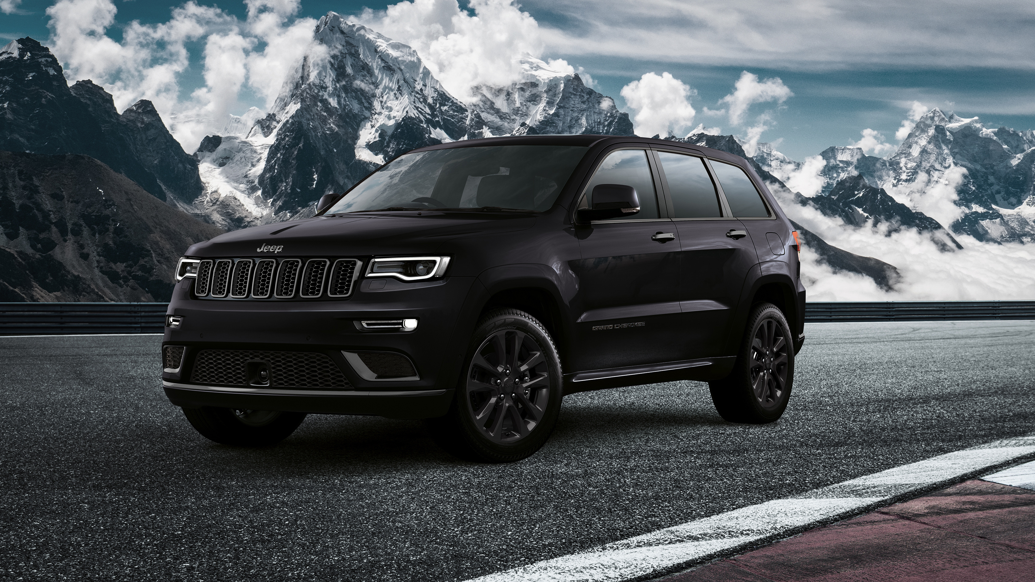 2019 Jeep Grand Cherokee S Wallpaper HD Car Wallpapers 3404x1915