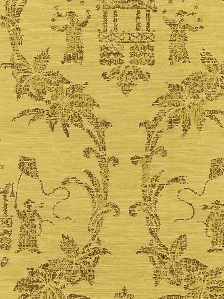 Imperial Folly Wallpaper in Gold Chinoiserie Wallpaper Pinterest 720x960