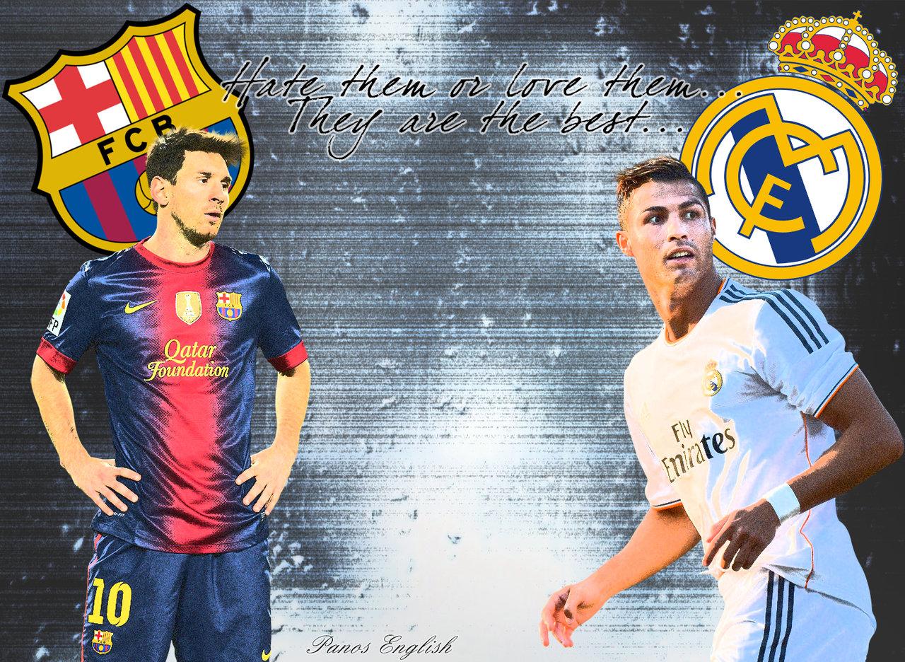 Messi and Ronaldo Wallpaper 2014 - WallpaperSafari