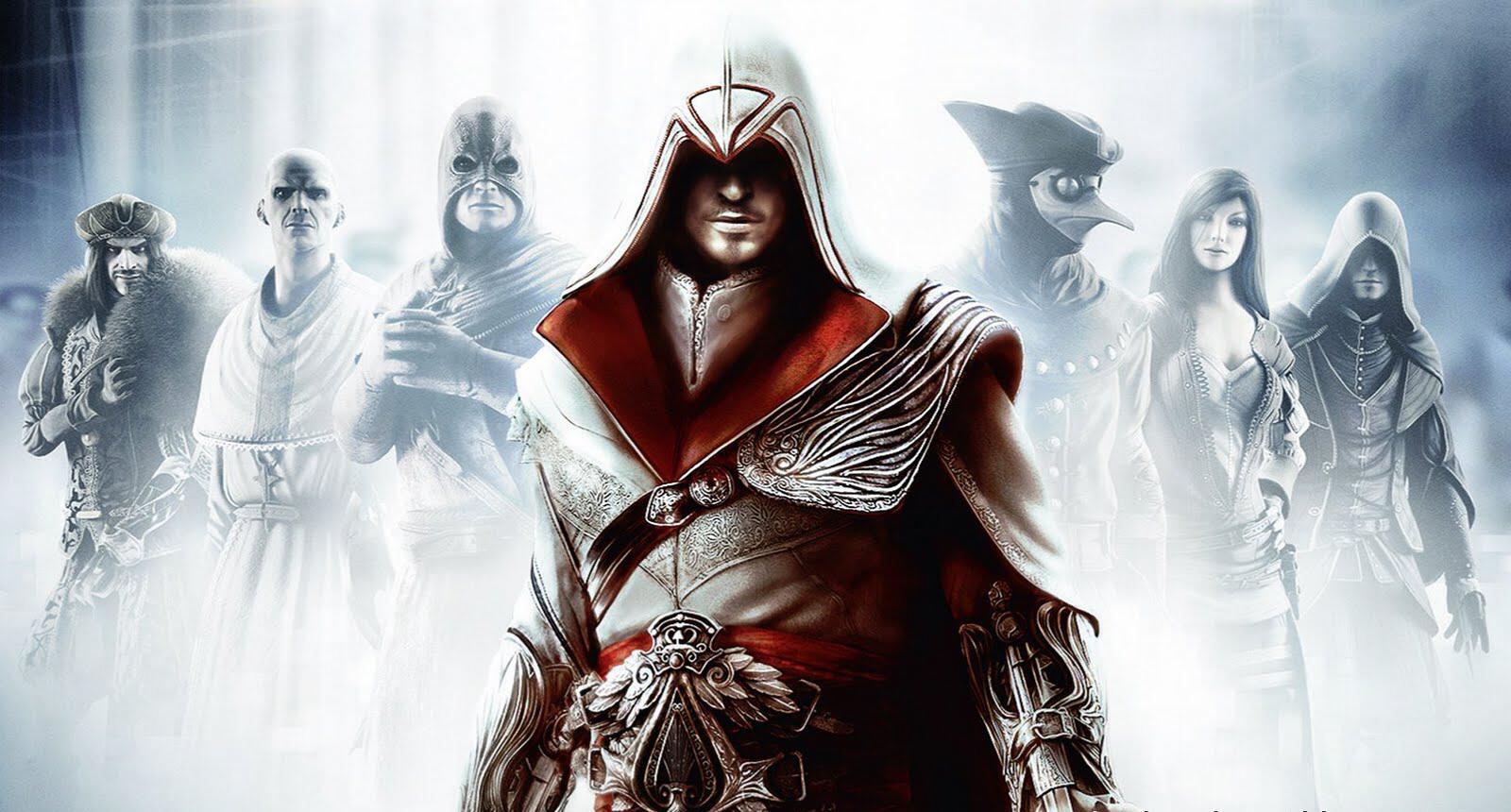 Assassins Creed Brotherhood wallpaper 3 Click for big pic 1600x860