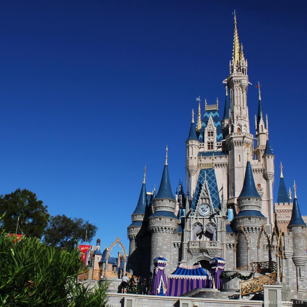 Disney Castle HD Wallpaper IHD Wallpapers 1024x1024