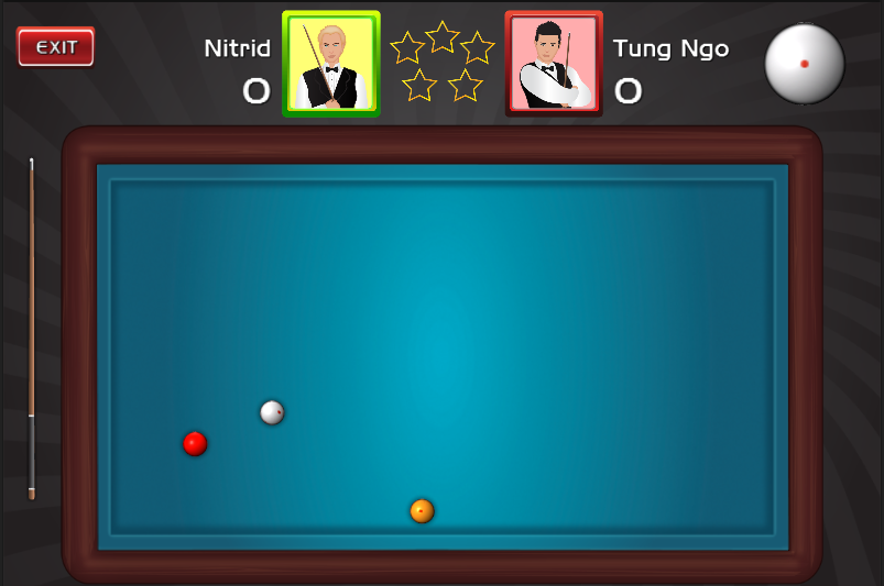with traditional 3 ball pool billiards game you can play against 803x533
