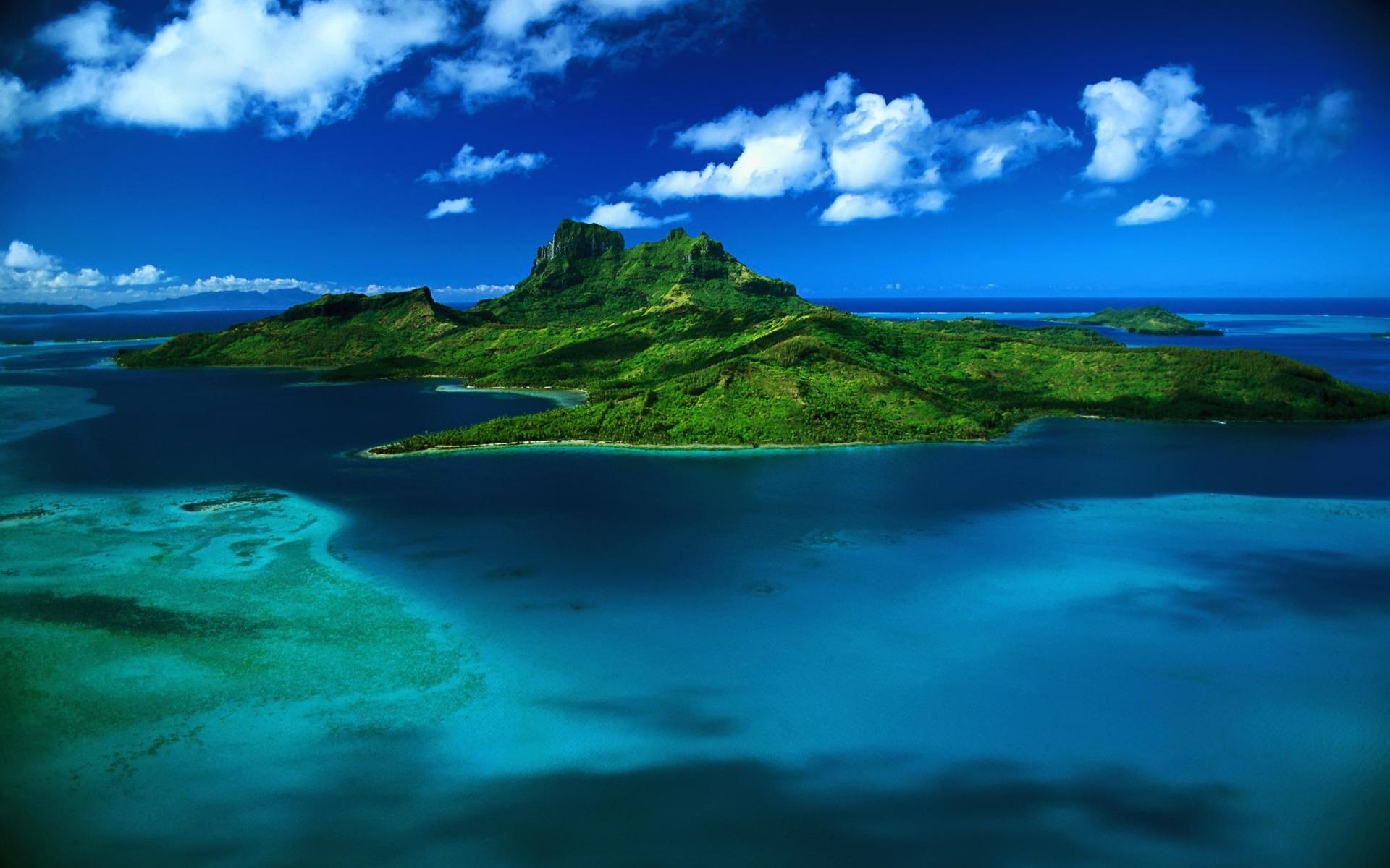 Tropical island / 1920 x 1200 / Nature / Photography | MIRIADNA.COM