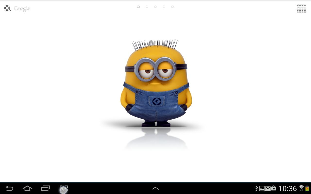 Live minions wallpaper wallpapersafari - Despicable me minion screensaver ...