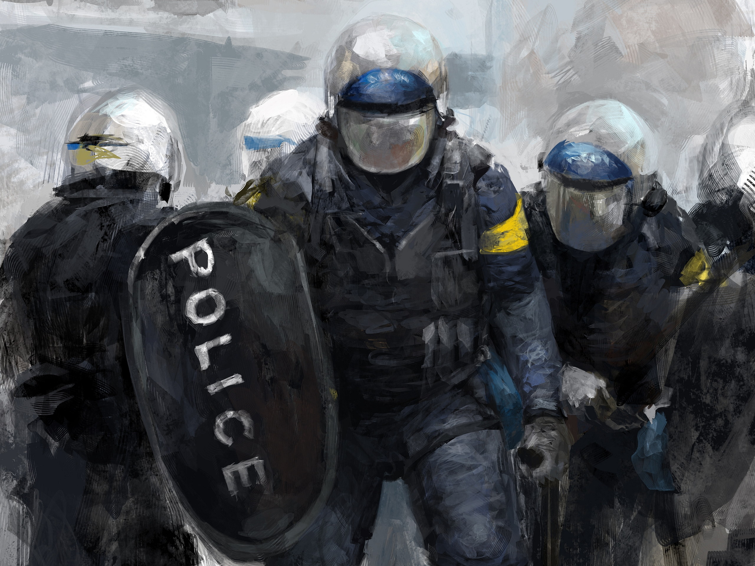 Police Computer Wallpapers, Desktop Backgrounds 2560x1919 Id: 374476