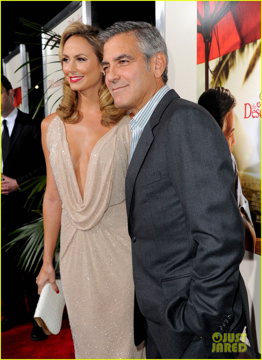 George Clooney images George Clooney Stacy Keibler Descendants 887x1222