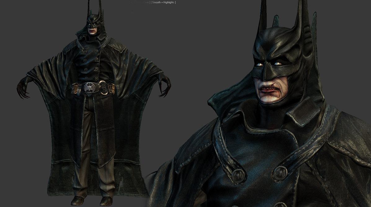 Vampire Batman by genci 1196x667