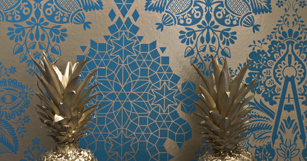 The 4 Wallpaper Trends That Are Primed to Dominate in 2016 Home 1200x630