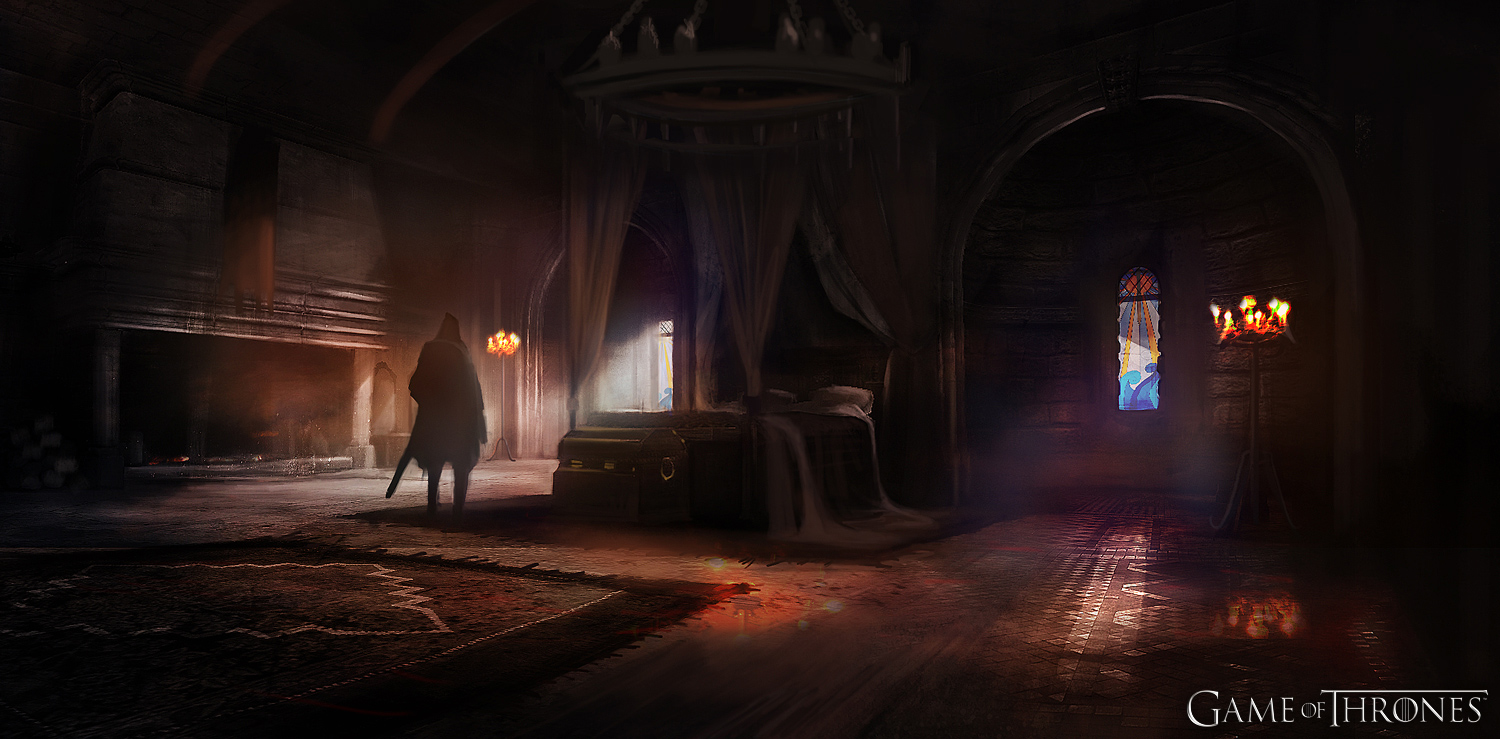 Game of Thrones Game Castle Room Wallpapers 1500x739 pixel resolution 1500x739