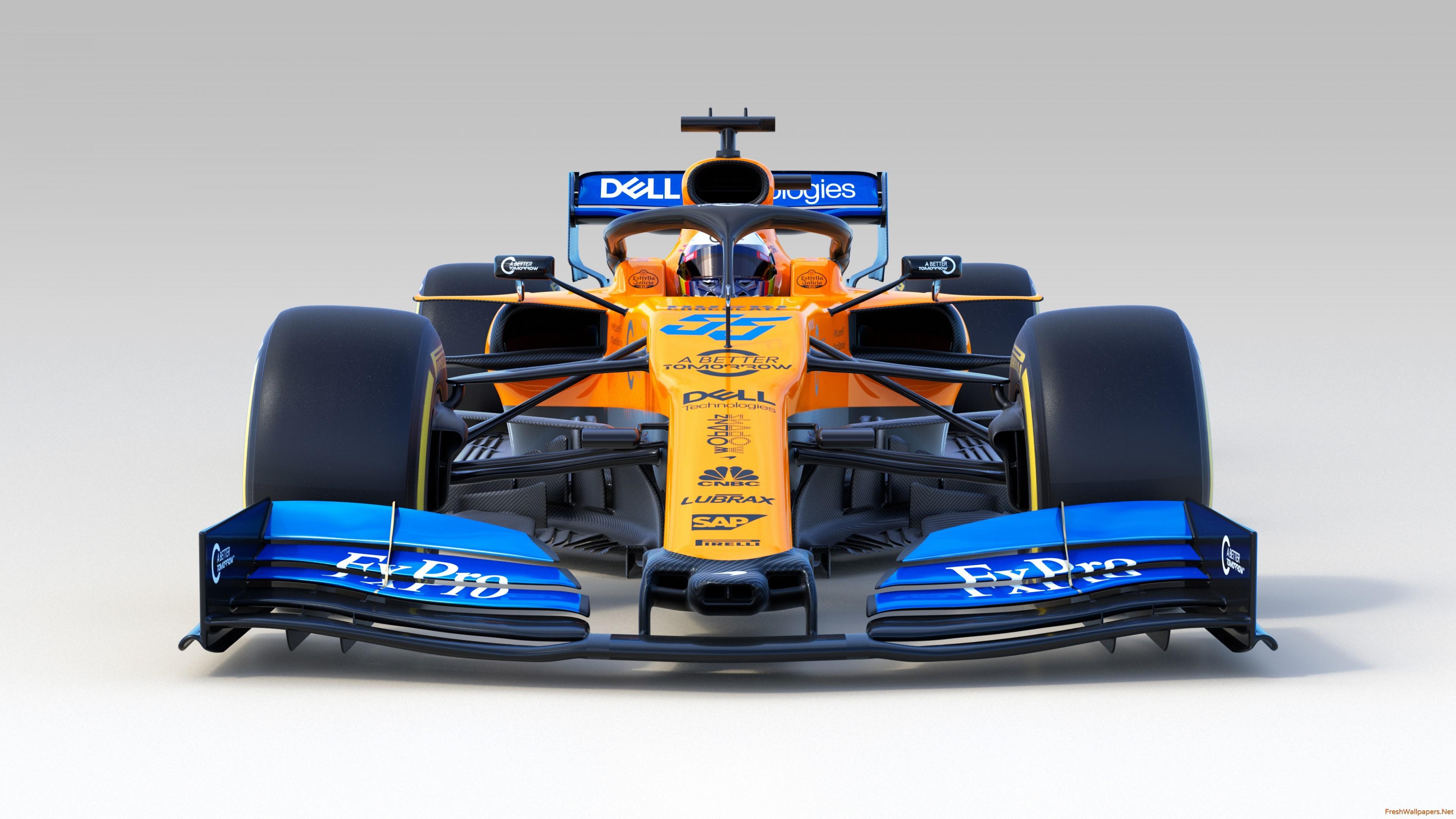 McLaren MCL34 F1 2019 4K wallpapers Freshwallpapers 3840x2160