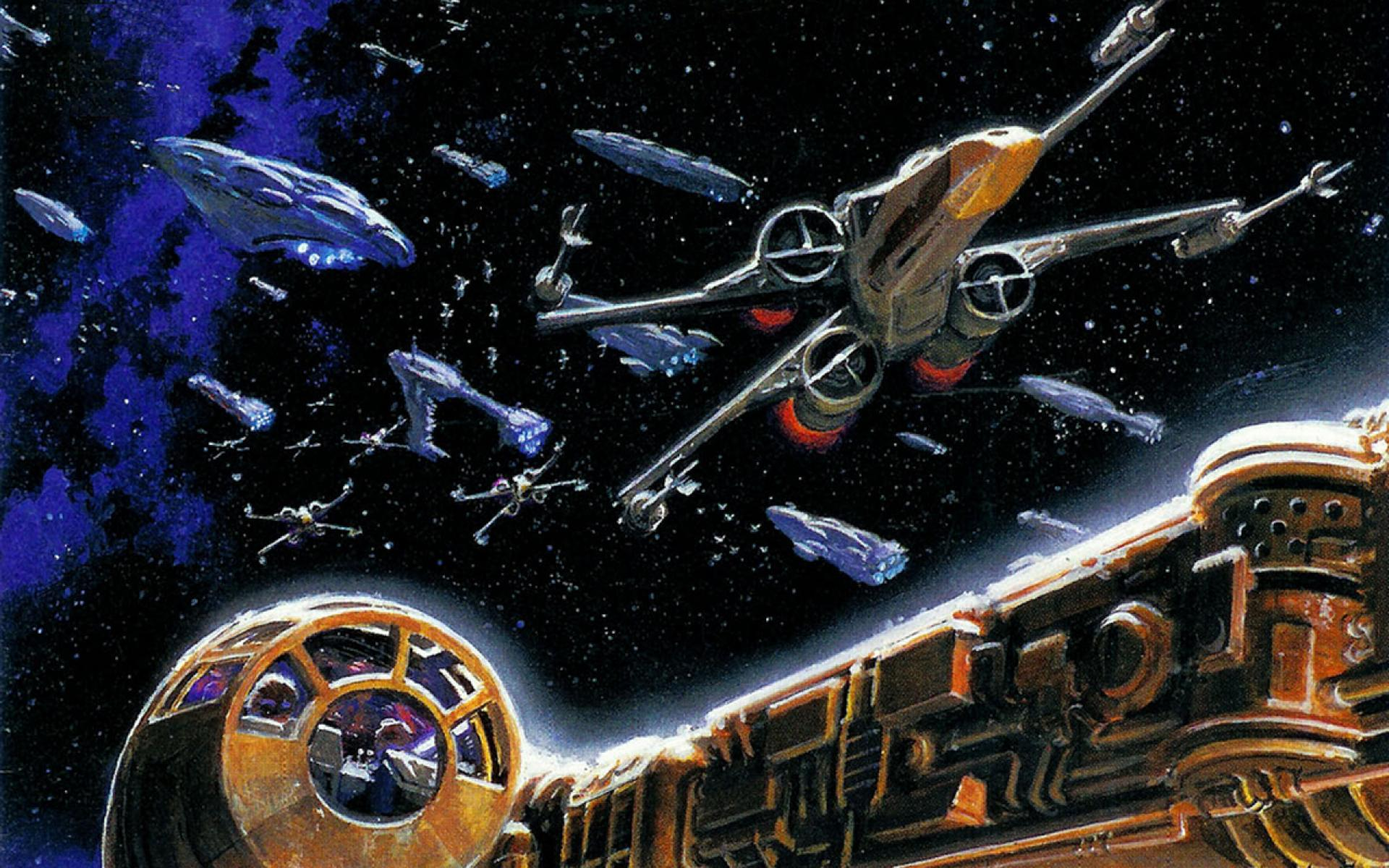 wallpapers to downloadMillennium falcon star wars x wing battles 1920x1200