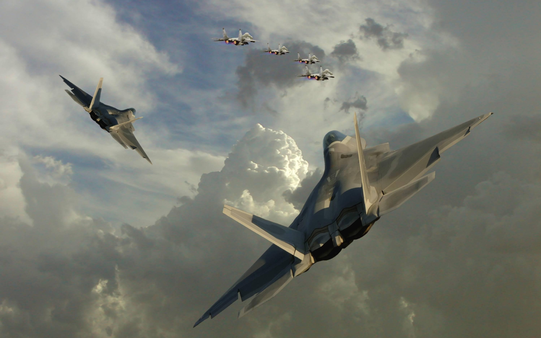 Aircraft military f 22 raptor wallpaper [7] HQ WALLPAPER   529 2996x1876