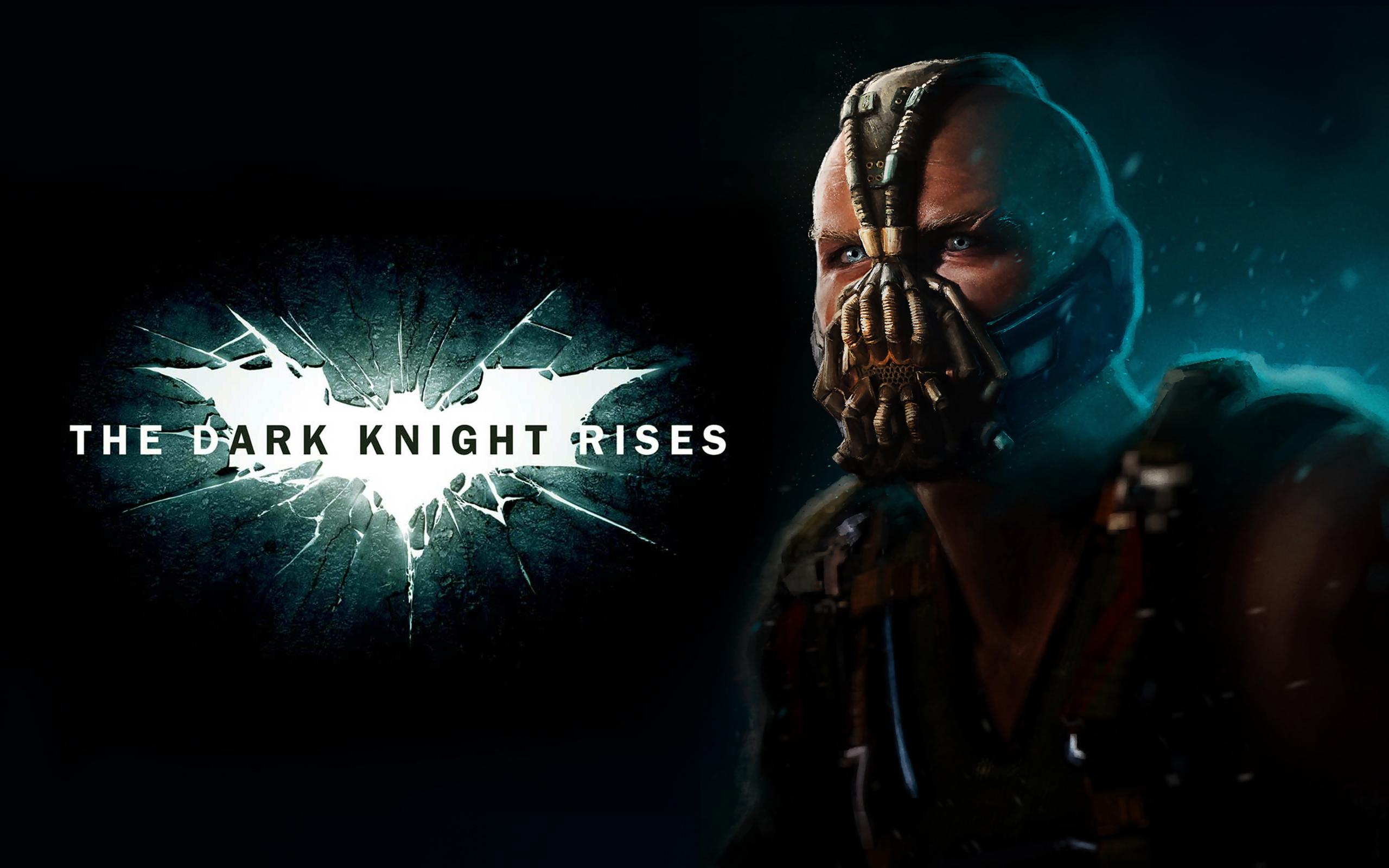 Dark Knight Rises Bane Batman Wallpaper 2560x1600