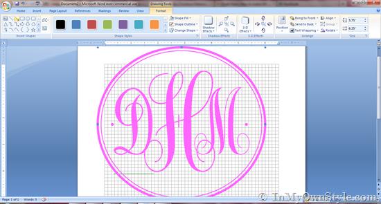 Monogram making tutorial 550x295