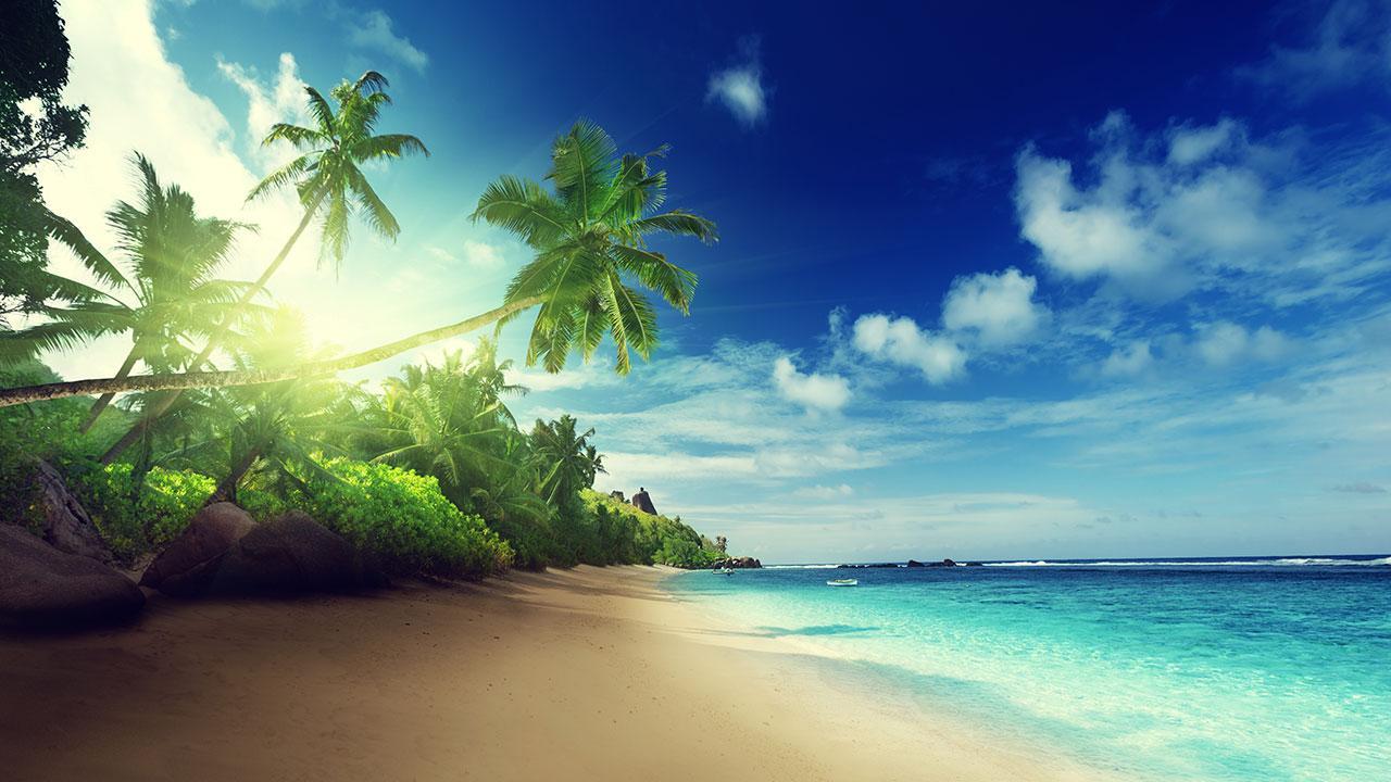 Beach Wallpaper IOS 7 1280x720