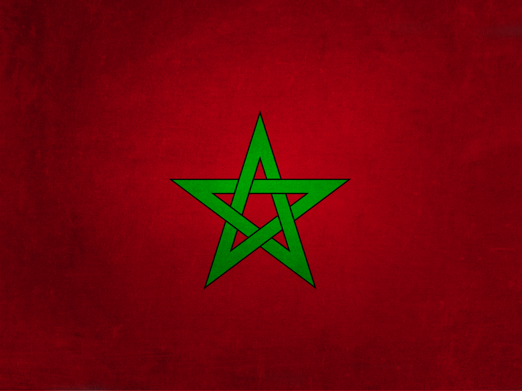 Morocco Flag HD Wallpaper Background Images 1032x774