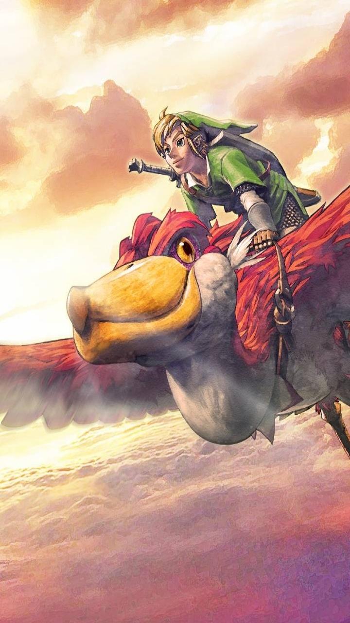 Free Download Video Gamethe Legend Of Zelda Skyward Sword 720x1280