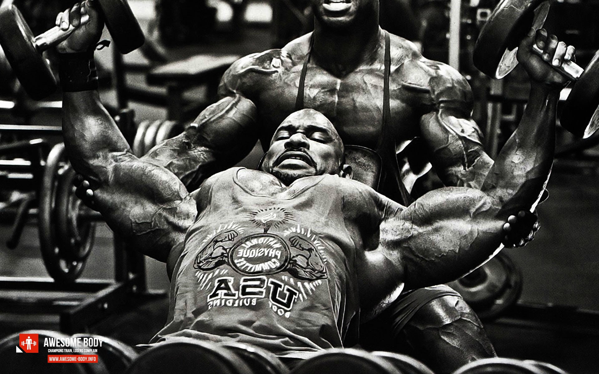Free download Fred Smalls Bodybuilder Wallpaper of